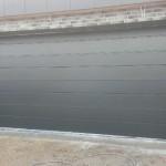 Garageport plank, sort RAL 9005