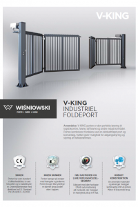 V-King Industri foldeport - KJ Porte